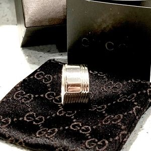 Gucci - Vintage SS 925 Ring